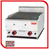 4台のストーブおよびキャビネットの高く効率的なガス範囲が付いている範囲を調理する商業台所