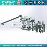 planta automática de la pelotilla del serrín de la biomasa 1-10tph