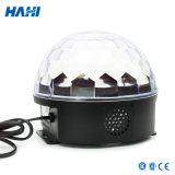 Indicatore luminoso della sfera della discoteca di natale LED per la decorazione della fase