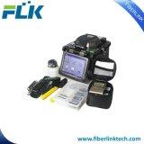 Kabel-Geräten-verbindene Maschinen-Schmelzverfahrens-Filmklebepresse der Faser-Flk-Fsm-S600