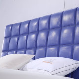 2017寝室セット(G7010)のための最新のデザイン革ベッド