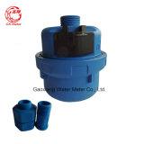 Volumetrisches Kolben-Wasser-Plastikmeßinstrument mit blauer Nylonkarosserie 1/2 ''