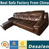 L Form-modernes Möbel-echtes Leder-Sofa (A841)