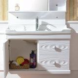 Governo di stanza da bagno della pittura del PVC con il bacino ed il Governo di ceramica del lato (8005)