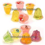 Macchina di plastica di Riempire-Sigillamento della tazza della bevanda della gelatina