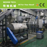 Resíduos plásticos HDPE/PP/LDPE lavagem de esmagamento máquina de reciclagem de garrafas
