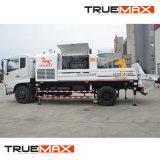 위 부품 트럭에 의하여 거치되는 구체적인 선 펌프