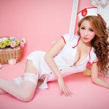 Плюс размер белья Sexy горячие эротические Sexy костюмы для женщин Sexy костюм медсестры с помощью кнопки Thongs эротических единообразных Sexy Lenceria