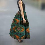 De petite quantité de cire d'impression jupe africaine traditionnelle faite sur commande longtemps