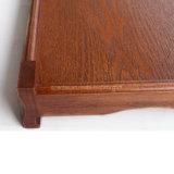 Bandejas de madera Finished de la antigüedad de la alta calidad