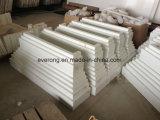 Mattonelle di pietra di marmo artificiali della lastra di Microlite del quarzo per il controsoffitto della parte superiore di vanità