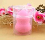 Sopros de pó da composição da face da escova da composição da esponja dos cosméticos