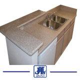 Badezimmer-Eitelkeits-Oberseite-Kostenzähler-Wannen-MarmorCountertop des Granit-G682