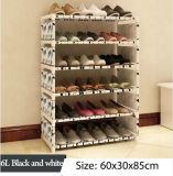 Equipamento para Engraxar os Sapatos de armário de racks de grande capacidade de armazenamento de dados móveis domésticos DIY Rack Sapata portátil simples (FS-06L)