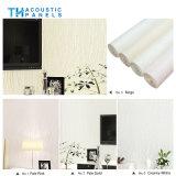 Eco friendly Fibra de poliéster interior cubierto de papel tapiz decorativo panel acústico para el panel de pared