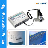 Imprimante à jet d'encre de haute résolution de Tij pour l'impression de empaquetage de code barres (ECH700)