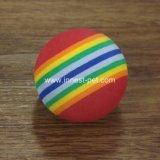 Bal van het Tennis van het Huisdier van de Regenboog van het Product van de Opleiding van de hond de Kleurrijke