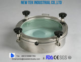 Sanitary Stainless Steel Ss304 Ss316L Round Manhole, Mancover, Mandoor