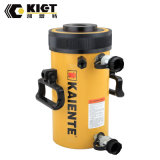 Serviço Pesado 600T cilindro hidráulico oco de dupla ação (RRH série)