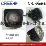 10W Moto LED Spot phare de travail (GT1023B-10W)