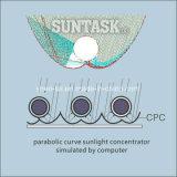 Coletores 2018 solares de tubulação de calor do CPC do produto novo de Suntask com saída do poder superior