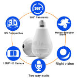 Cámara del CCTV de la cámara de la bombilla del grado 960p de la venta al por mayor 360