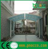 Goed Effect op het uv-AntiDak van het Polycarbonaat van Carport van het Aluminium