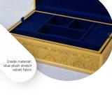 Luxuxosten-stilvoller geschnitzter hölzerner Schmucksache-Kasten