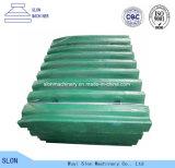 Delen de van uitstekende kwaliteit van de Maalmachine van de Kaak van de Plaat van de Kaak van Nordberg Metso C100