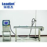 Inyección de tinta solvente industrial automática de abrir el depósito de tinta impresora Fecha y hora