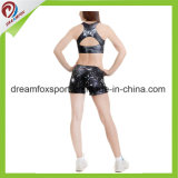 Uniformes de Cheerleading personalizados impresión sublime Cheerleading práctica mallas de desgaste