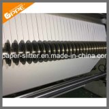 Caisse enregistreuse de haute précision rembobinage de la coupeuse en long de la Machine à rouleaux de papier