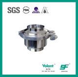 Válvula de verificação soldada RUÍDO Sfx046 do aço inoxidável 304 316L Stanitary