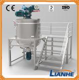Tanque de mistura de creme líquido do misturador do aço inoxidável com homogenizador
