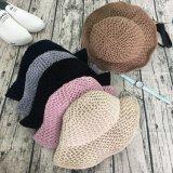 Beanie fait sur commande de chapeau de position de chapeau de l'hiver de laines