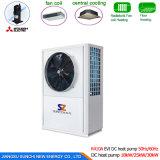 pompe à chaleur variable d'eau chaude de 12kw 19kw 35kw 70kw 105kw