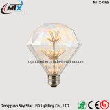 Nouvelle lampe de verre vitrée moderne E27 lampe artificielle à LED artificielle lumières étoilées