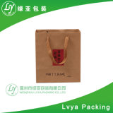 Sac shopping de Promotion de papier kraft sacs de transport