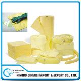 PP Super derrame químico Universal de las hojas de absorción de agua aceite