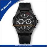 Het eenrichtings OEM van de Vatting Multifunctionele Aangepaste Horloge van Techymeter van de Sport