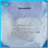 Benzocaine порошка высокой очищенности фармацевтический местный наркозный