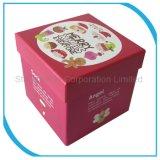 Papel de color Tamaño Personalizado Regalo Box, caja de cartón de embalaje