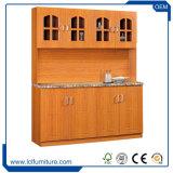 L técnico elevado laca da cor da forma gabinete de cozinha moderno da multi