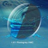 1.61 Фотохромных серый Hmc оптический объектив