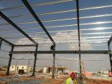 Taller multi de la estructura de acero del almacén de la estructura de acero del palmo con la grúa