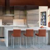 Самомоднейший белый подгонянный твердый поверхностный Countertop кухни