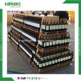 Luxuxsupermarkt-Wein-Gondel-Fach-Zahnstange