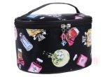 2017 sacs cosmétiques imperméables à l'eau de femmes de marque de mode composent des caisses d'organisateur de lavage de sac de renivellement de cadre de mémoire d'article de toilette de course