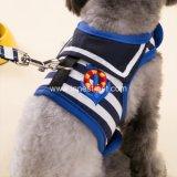 Uitrusting van de Hond van het Huisdier Blue&Red van de zeeman de Gestreepte