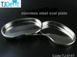 De tand Ellips van het Gebruik van het Roestvrij staal Medische/Ovaal Plaat/Schotel/Dienblad (tj-0151)